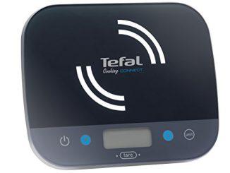 Tefal Bc9200s5 Balance De Cuisine Connectée Cooking Connect Application 300 Recettes Graduation 10kg/1g Conversion Liquides Tare