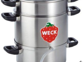 Weck Wsg 28e Centrifugeuse à Jus électrique 1500 Watt