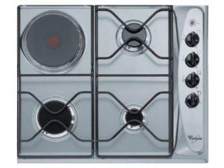 Whirlpool Akm261ix Plaque Plaques (intégré, Gas/electric, Electric Induction, Acier Inoxydable, Acier Inoxydable, Rotatif, 560 X 480 X 30 Mm)
