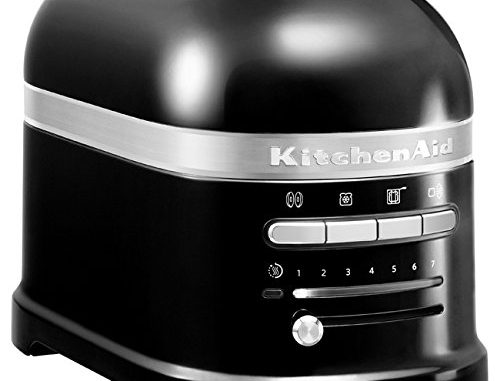 Kitchenaid 5kmt2204eob Grille Pains, 1250 Watts, Noir