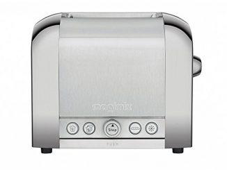 Magimix Le Toaster 2 Tranches Brossé Brillant Magimix Le Toaster 2 Tranches Brossé Brillant Grille Pain Brillant/brossé