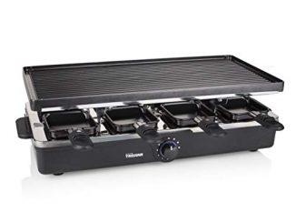 Raclette Tristar Ra 2995 Pour 8 Personnes Gril Et Plaque De Cuisson