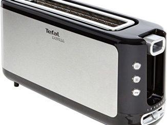 Tefal Tl365etr Grille Pain Express Inox/noir 37 X 18 X 10 Cm